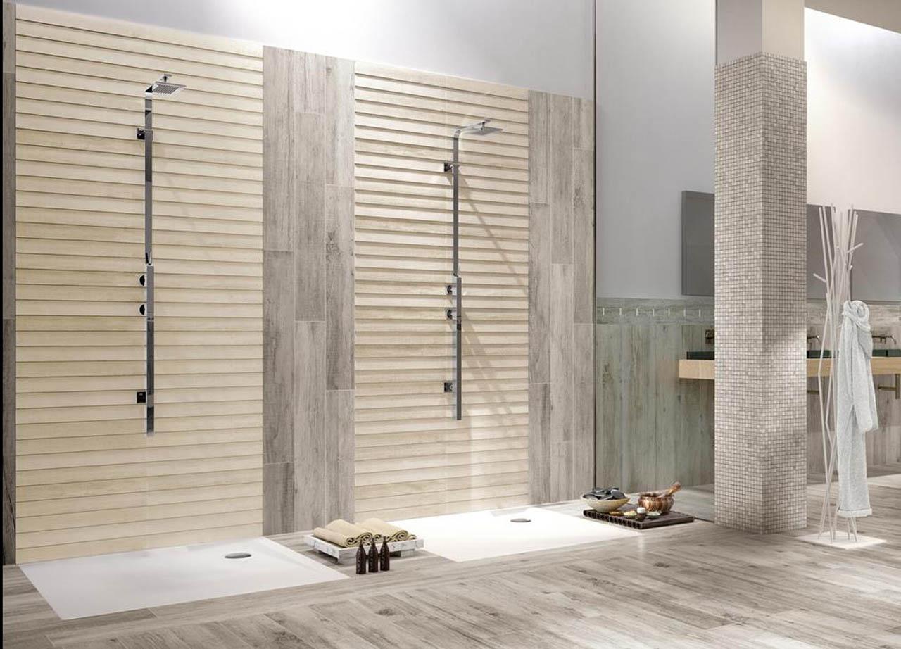 Bagni in legno pavimento effetto legno per bagno with - Legno per bagno ...