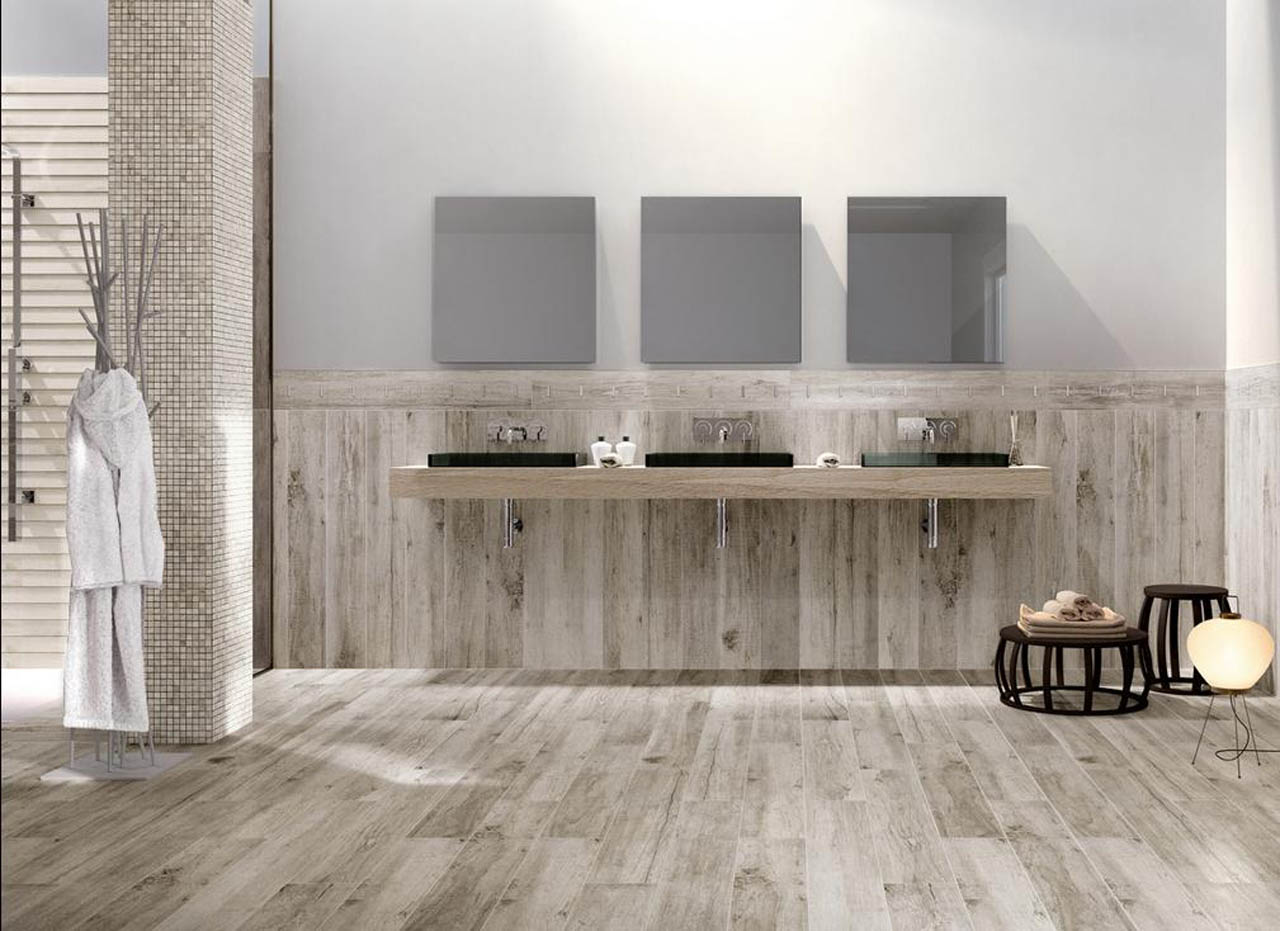 Collezioni u e bagno u e effetto legno pavimento in gres verona